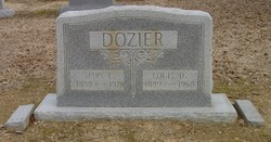 Mary L <I>Whorton</I> Dozier