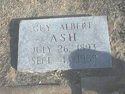 Guy Albert Ash