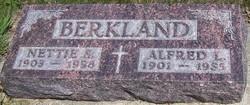 Antonette Nettie <I>Skyberg</I> Berkland