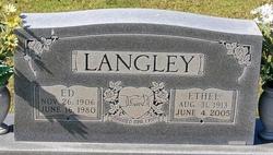 "Dick Edwin ""Ed"" Langley"