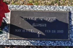 Betty Ruff Jones