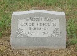 Louise <I>Zieschang</I> Hartmann