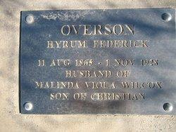 Hyrum Fredrick Overson