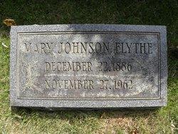 Mary <I>Johnson</I> Flythe