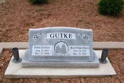 Kate Vilate <I>Davis</I> Gutke