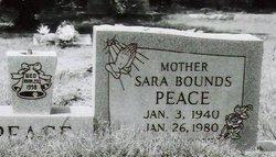 Sara Louise <I>Bounds</I> Peace
