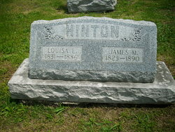 Louisa E <I>Lewis</I> Hinton