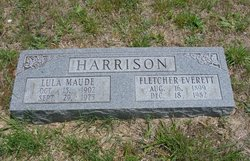 Lula Maude <I>Harrison</I> Harrison