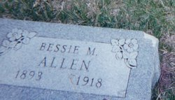 Bessie May <I>Harris</I> Allen