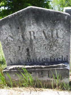 Sarah <I>Tufts</I> Butterfield