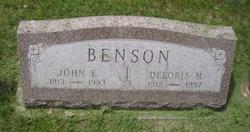 John E Benson