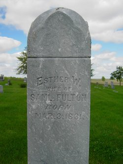 Esther W <I>Hathaway</I> Fulton