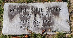 Ronnie Orie Baker