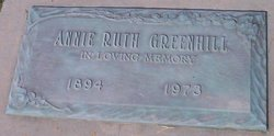 Annie Ruth Greenhill