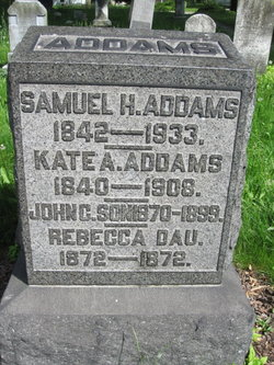 Samuel H Addams