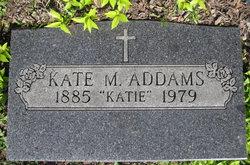 """Kate M """"Katie"""" Addams"""