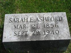 Sarah Ellen <I>Douglas</I> Ashford
