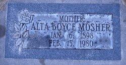 Alta May <I>Boyce</I> Mosher