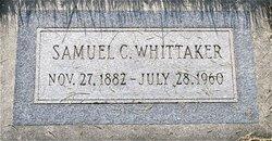 Samuel Curle Whittaker