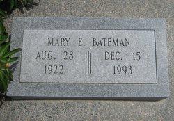 Mary Evelyn <I>Heflin</I> Bateman