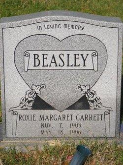 Roxie Margaret <I>Garrett</I> Beasley