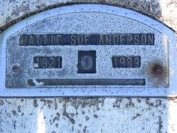 Hattie Sue <I>Phelps</I> Anderson