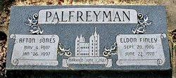 "Eldon Finley ""Ike"" Palfreyman"