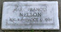 Mary Frances <I>Raylance</I> Nelson