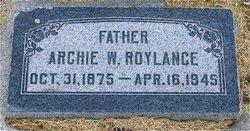 Arch W Roylance