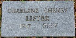 Charlene Vivian <I>Cheney</I> Lister