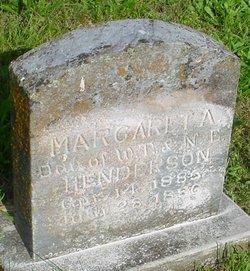 Margaret A. Henderson