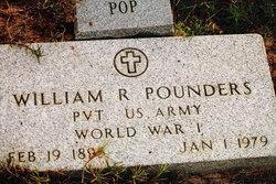 "William Rufus Oscar ""Oscar"" Pounders"