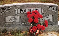 Martha Wilhelmine <I>Lorenz</I> Pounders