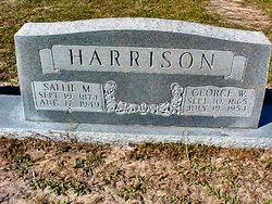 Sallie Matilda <I>Holder</I> Harrison