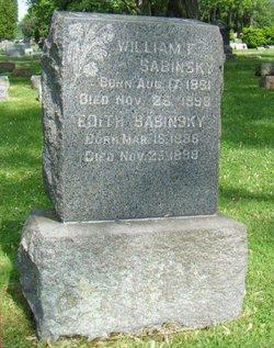 William F Sabinsky