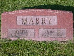 Myrtle Lee <I>Christy</I> Mabry