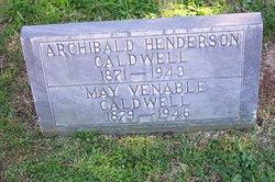 May Venable <I>Jones</I> Caldwell