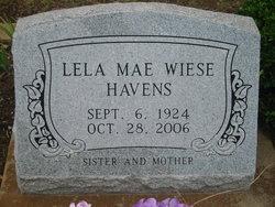 Lela Mae <I>Wiese</I> Havens