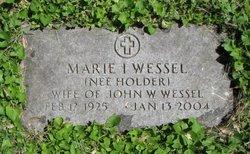Marie Inez <I>Holder</I> Wessel