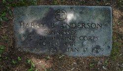 Harry Burton Anderson