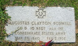 "Augustus Clayton ""Gus"" Boswell"