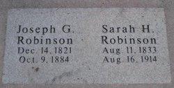 Joseph G Robinson