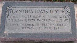 Cynthia <I>Davis</I> Clyde