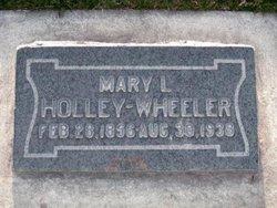 Mary L <I>Inshaw</I> Wheeler