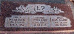 Alma Reed Tew