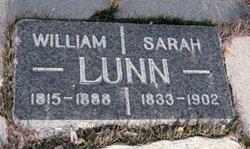 Sarah <I>Percival</I> Lunn