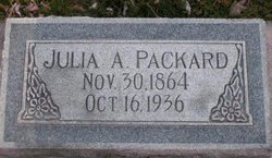 Julia Ann <I>Crandall</I> Packard
