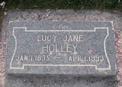 Lucy Jane <I>Ingram</I> Holley