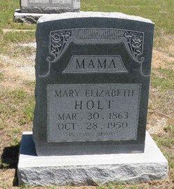 Mary Elizabeth <I>Linebarger</I> Holt