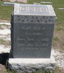 Alice <I>McCormick</I> Gibbs